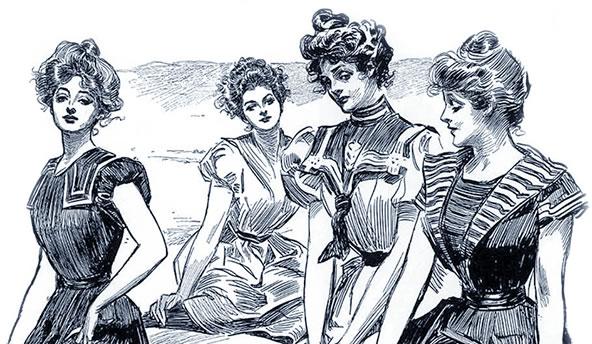 Gibsonova dekleta na plaži