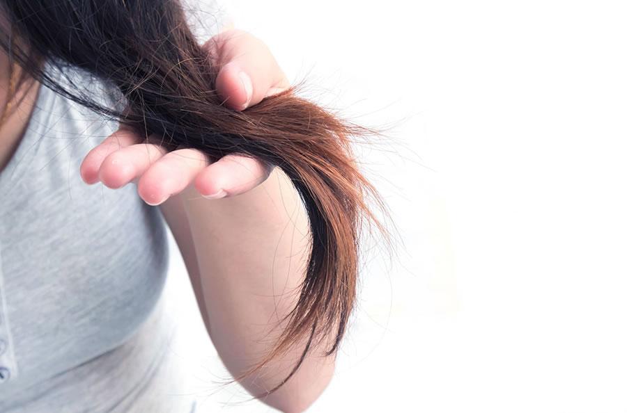 elektrostatični naboj las