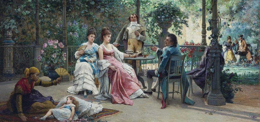 Adrien de Boucherville, Na terasi