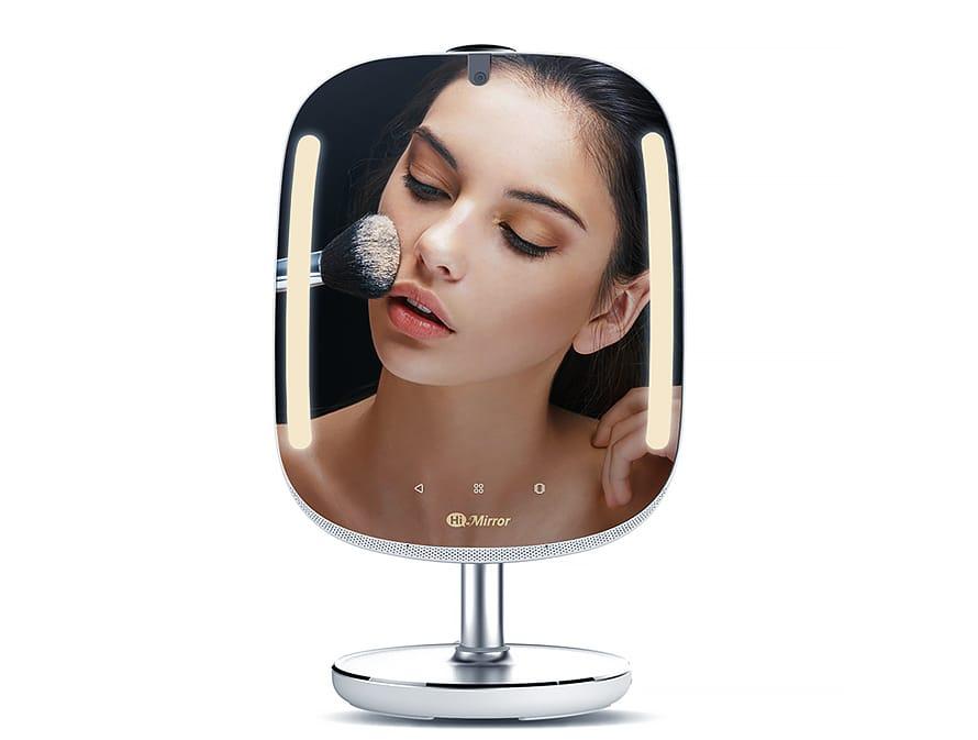 umetna inteligenca v kozmetiki, HiMirror Mini Premium pametno ogledalo
