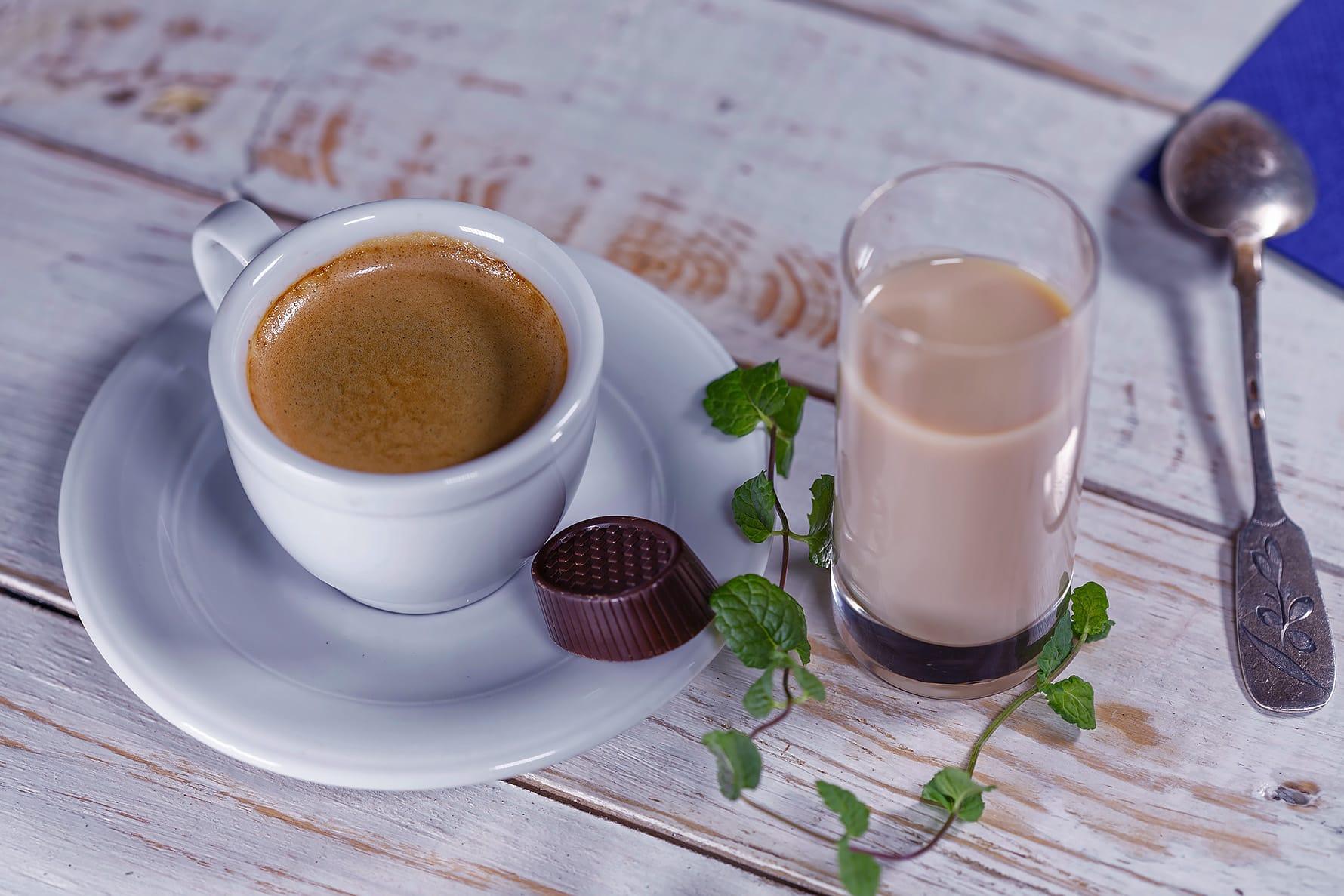 kava in bonboniera