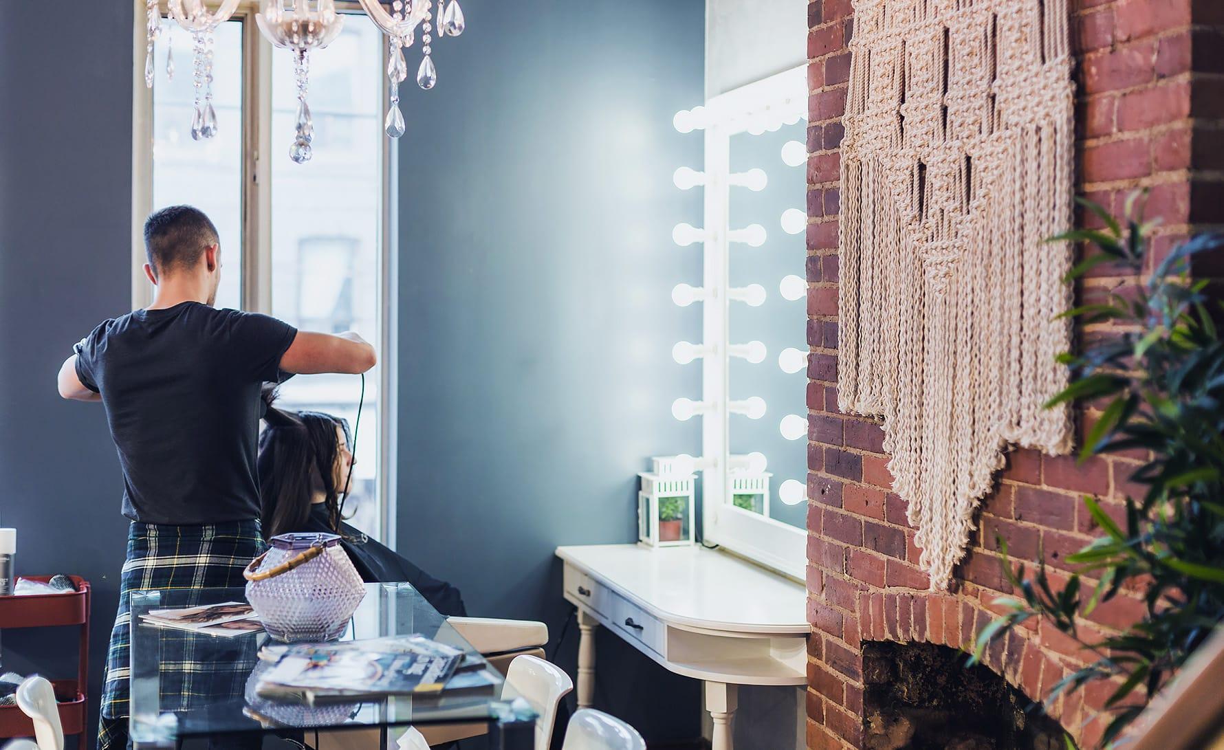 pristop do stranke, sušenje las